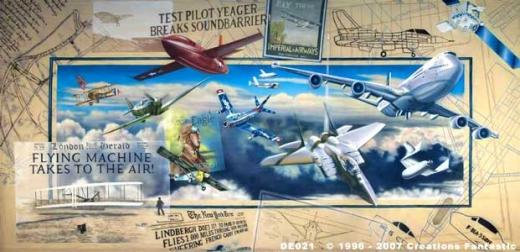 History of Flight Event backdrdop image