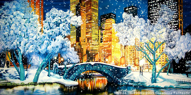 WI024 NYC CENTRAL PARK WINTER Backdrop