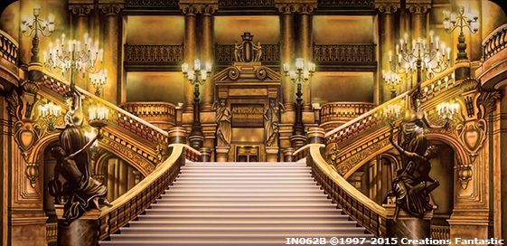 Paris Opera Staircase Event backdrop image