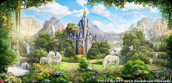 Unicorn-and-Rainbows Event backdrop image